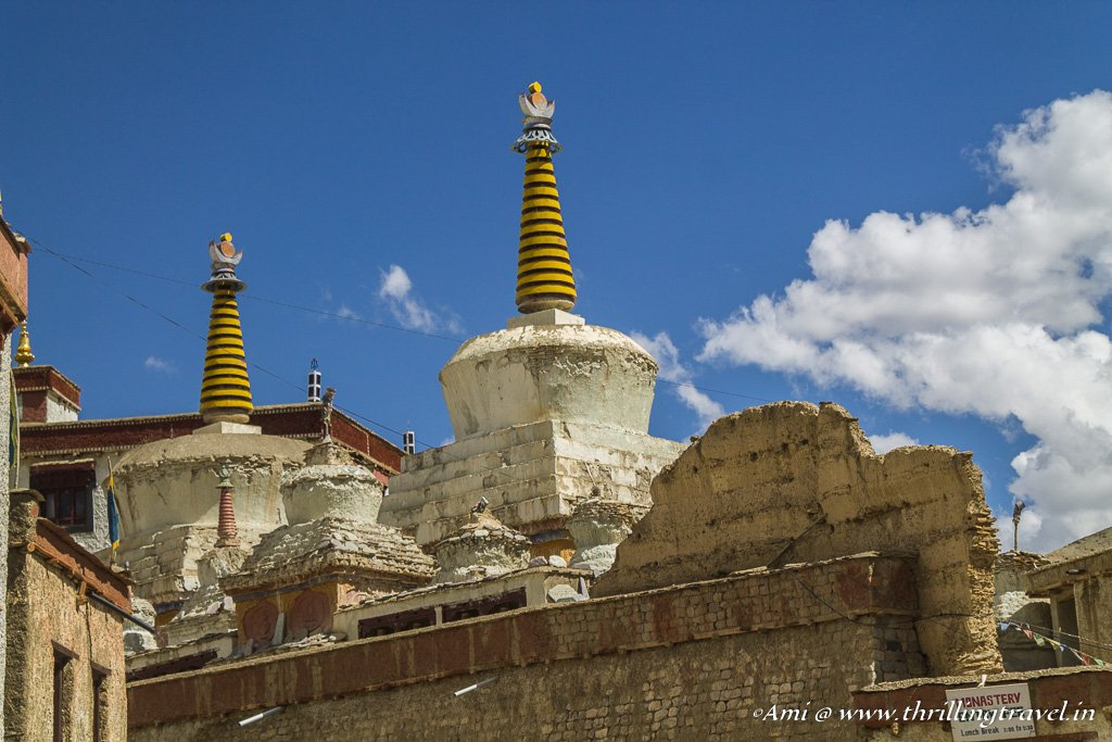 The lone temple that remains at Lamayuru Monastery