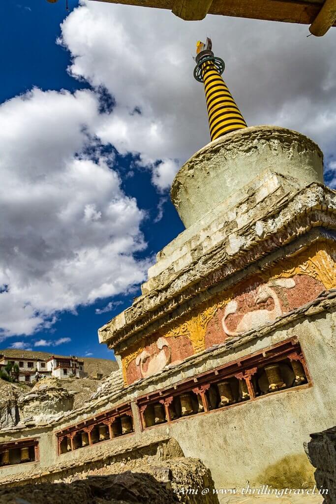 The old Gompa of Lamayuru Monastery