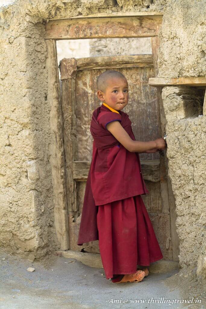 My cute little monk