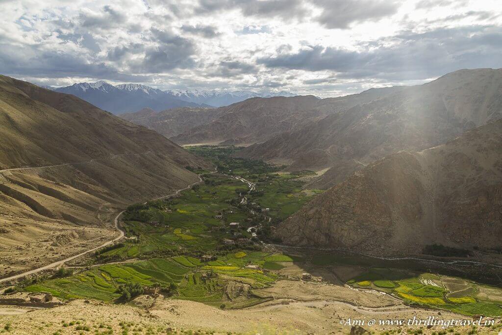 Views enroute to Chang La Pass