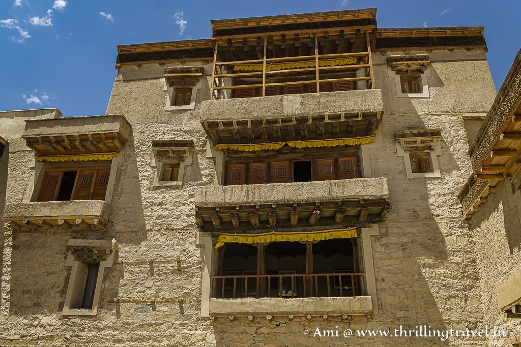 Higher levels seen from Khatok Chenmo or the Royal courtyard of Leh Palace