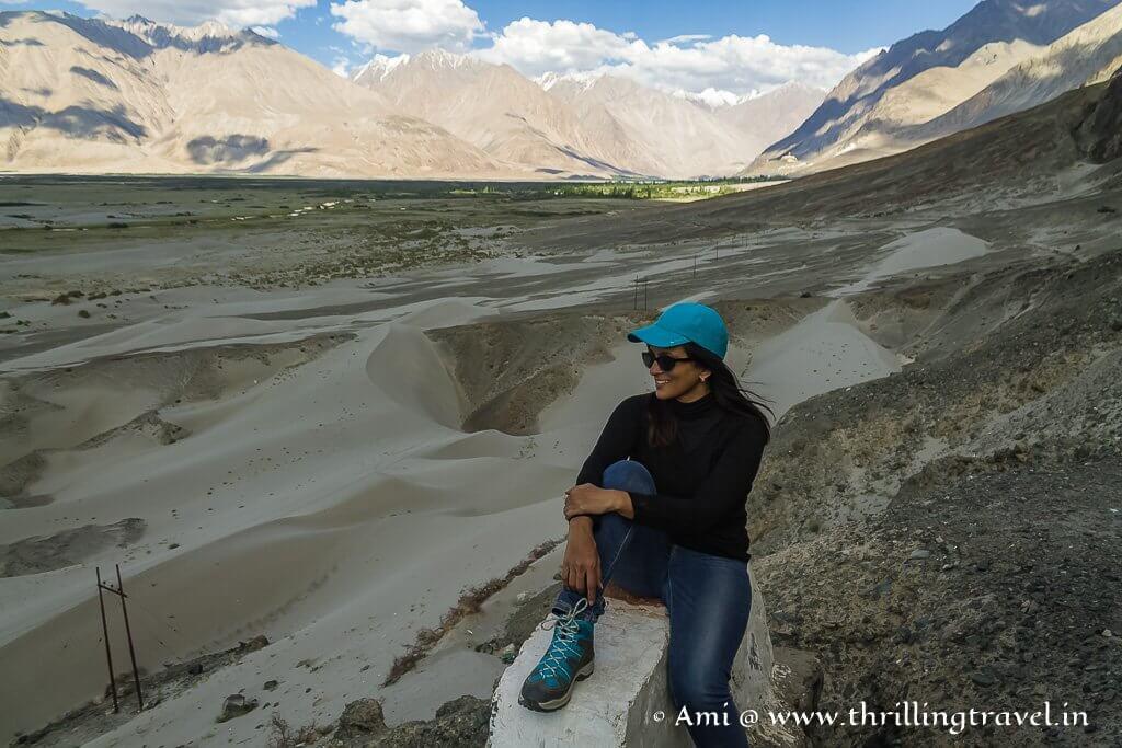 The cold desert at Nubra Valley in Ladakh