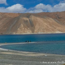 The famous 3 idiots lake aka Pangong Lake in Ladakh