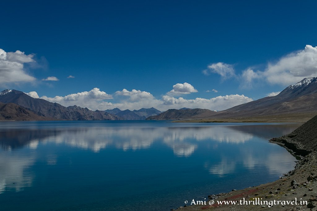 What is the best time to visit Pangong Lake Ladakh?
