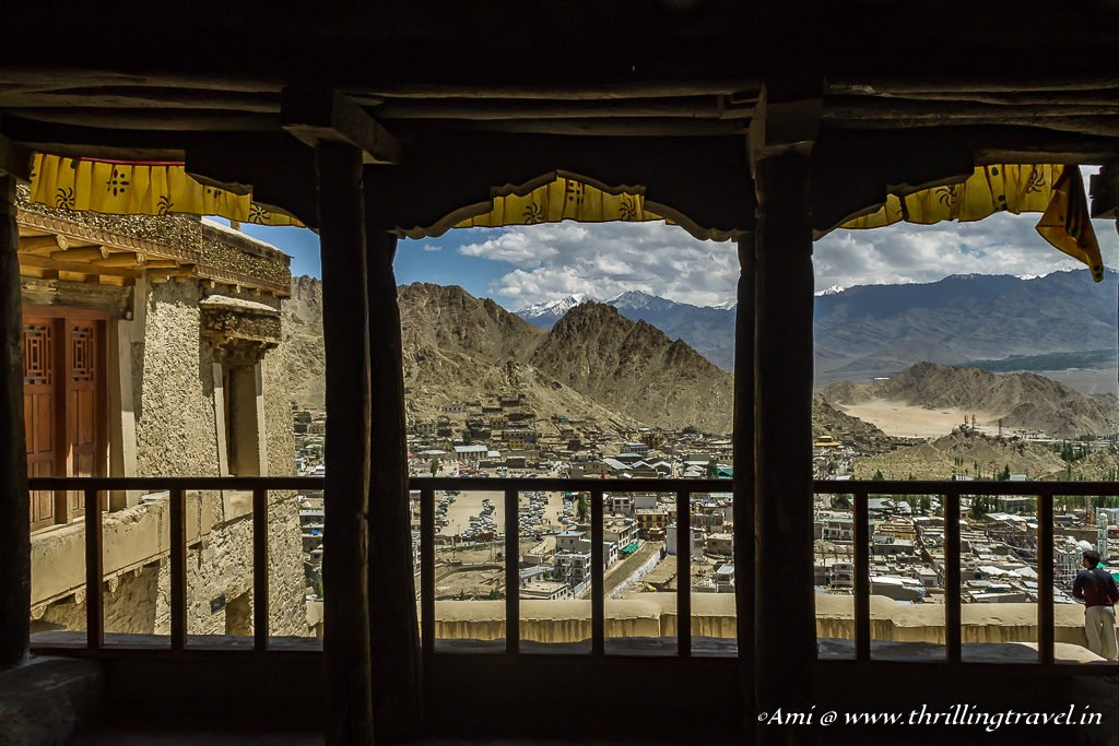 View from the balconies of Leh Palace