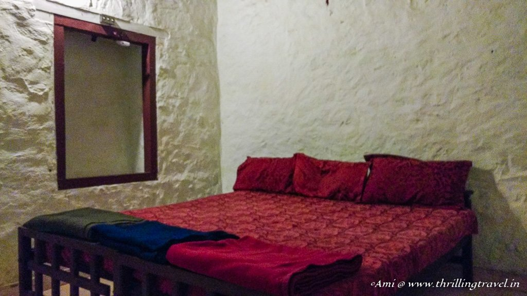 The rooms at the Dare Nature Camp in Wayanad