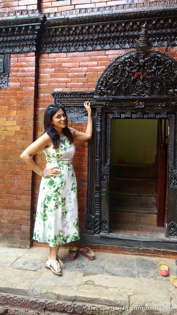 Entrance to the Kumari's chambers