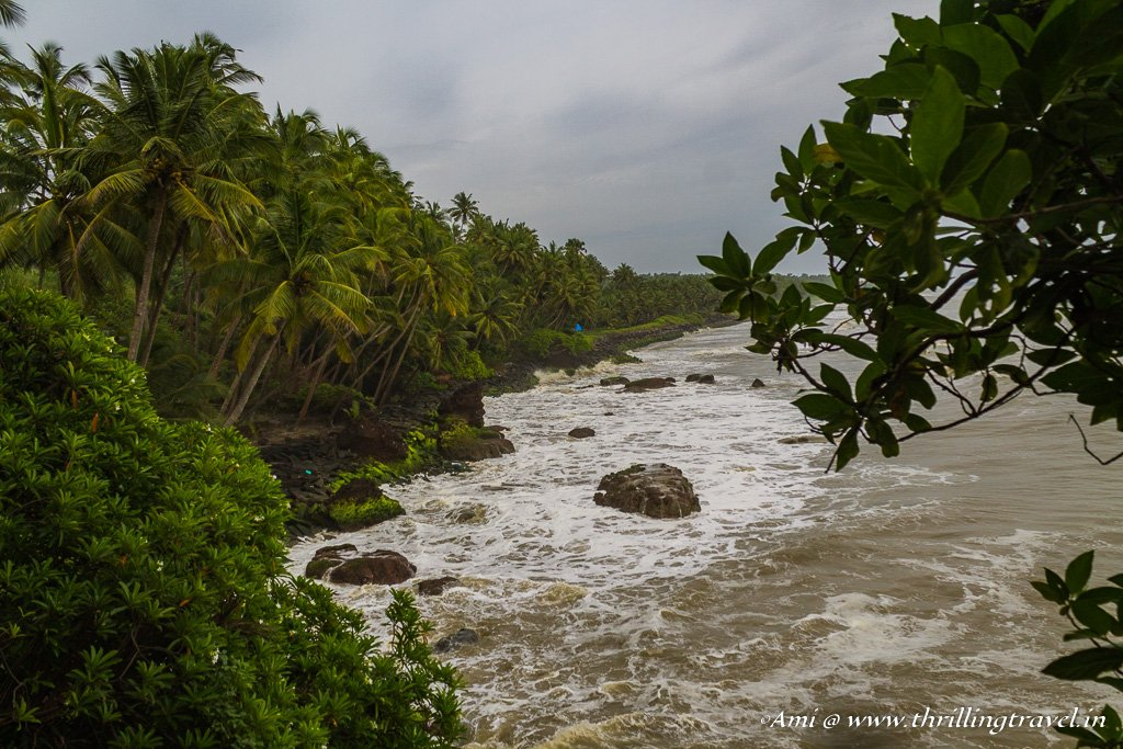 Thottada Beach in Kannur