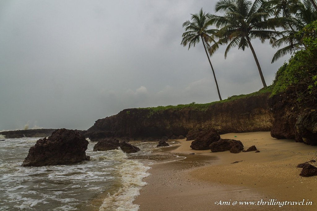 The secret section of the Thotadda beach