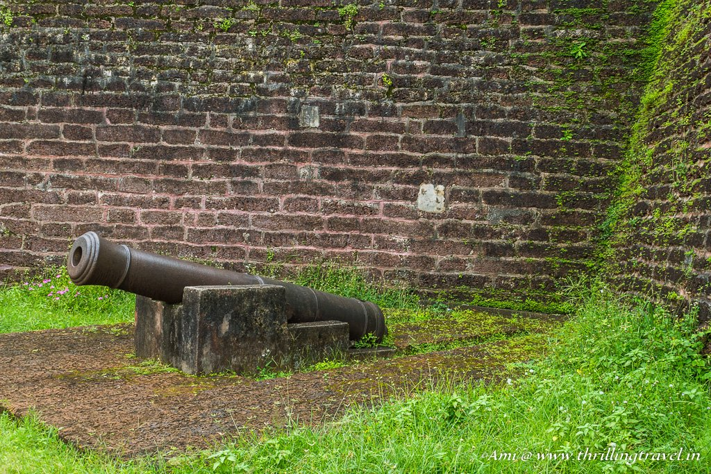 Cannon at St. Angelo fort