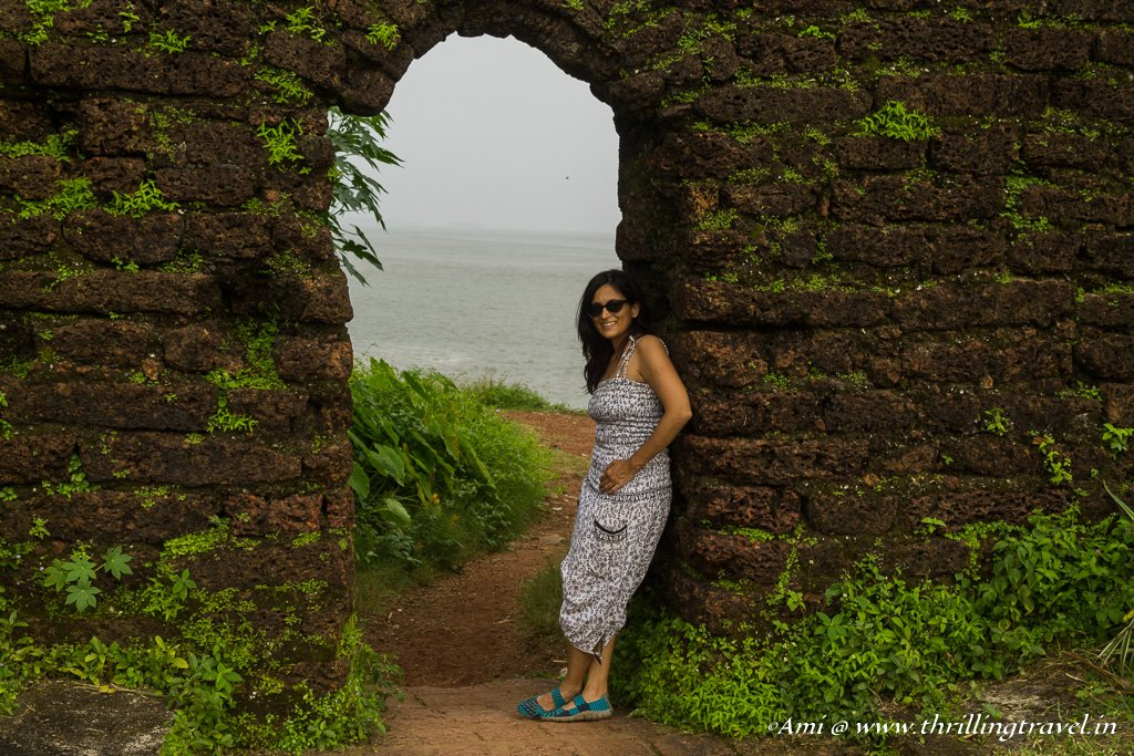 My favorite archway at St. Angelo fort, Kannur