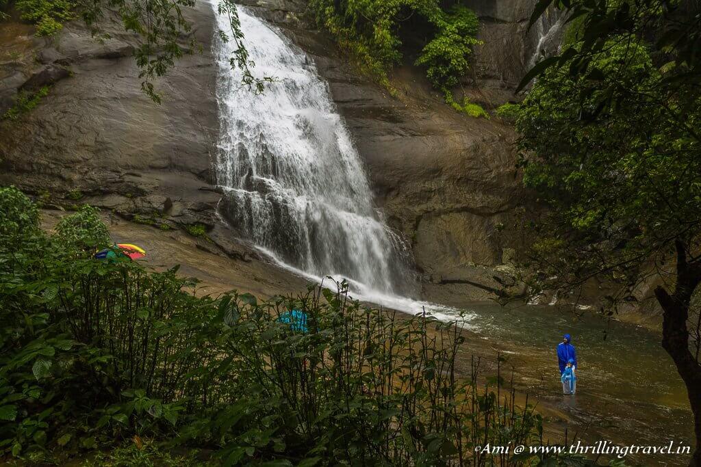 Erratumukku Waterfalls - one of the 4 falls at Thusharagiri Falls