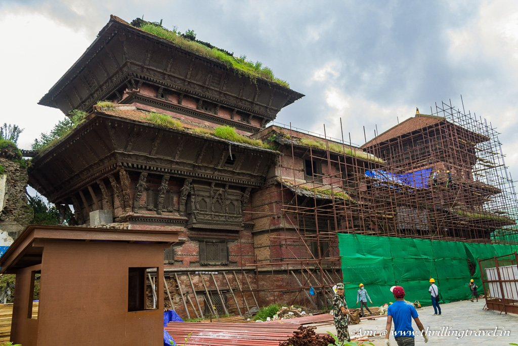 Basantpur Durbar in Kathmandu Durbar Square