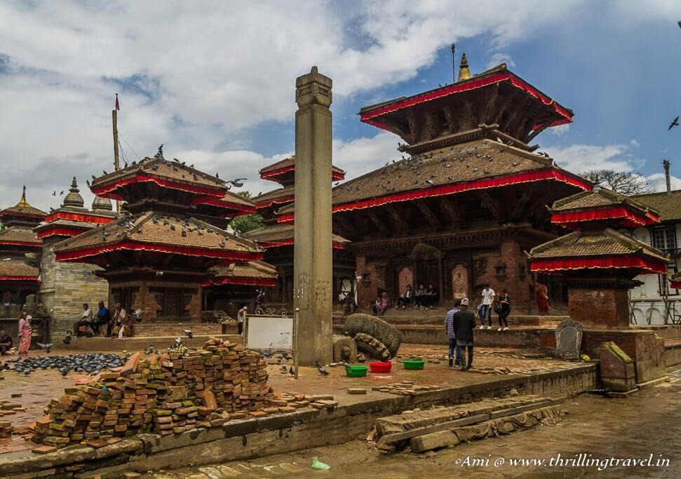Jagannatha temple at Kathmandu Durbar Square