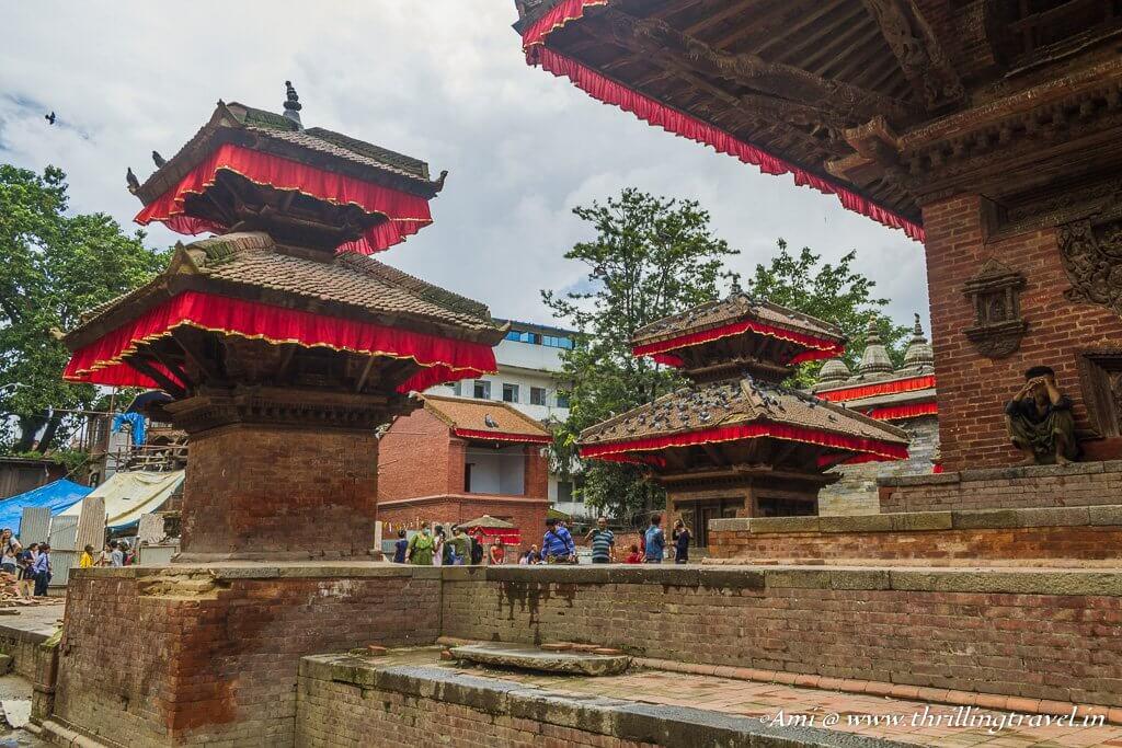 Hanuman Dhoka Square in Kathmandu Durbar Square