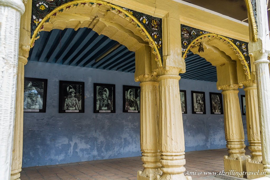 The Royal Corridors of the Palace