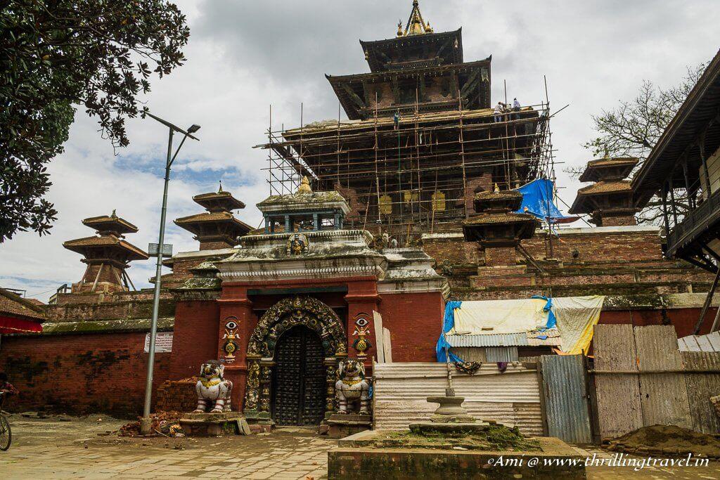 Taleju Temple at Kathmandu Durbar Square