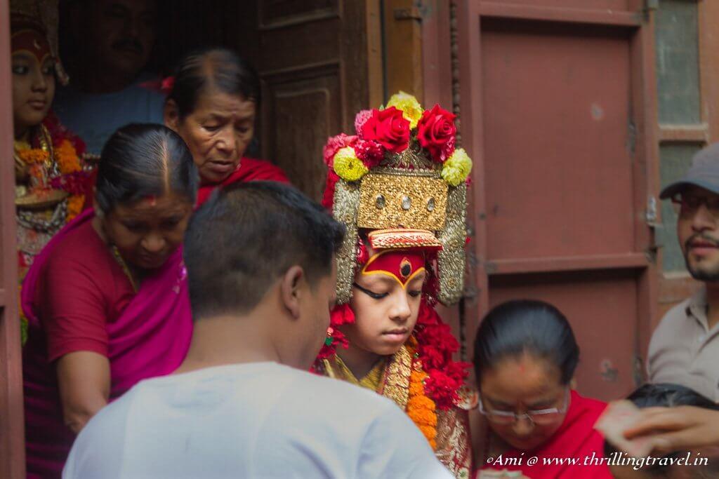 Ganesha at Indra Jatra