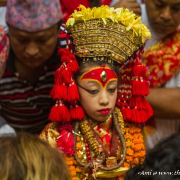 Meeting Kumari – the living Goddess of Nepal