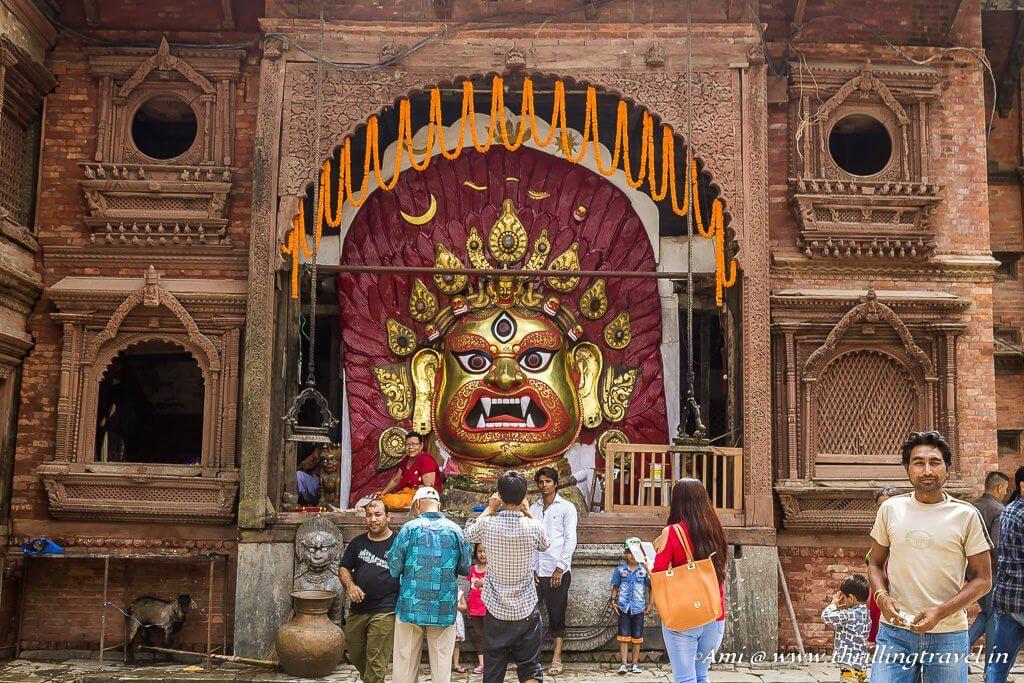 Sweta Bhairava, Kathmandu Durbar Square
