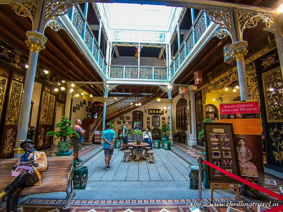 Main Courtyard of Pinang Peranakan Mansion, Penang