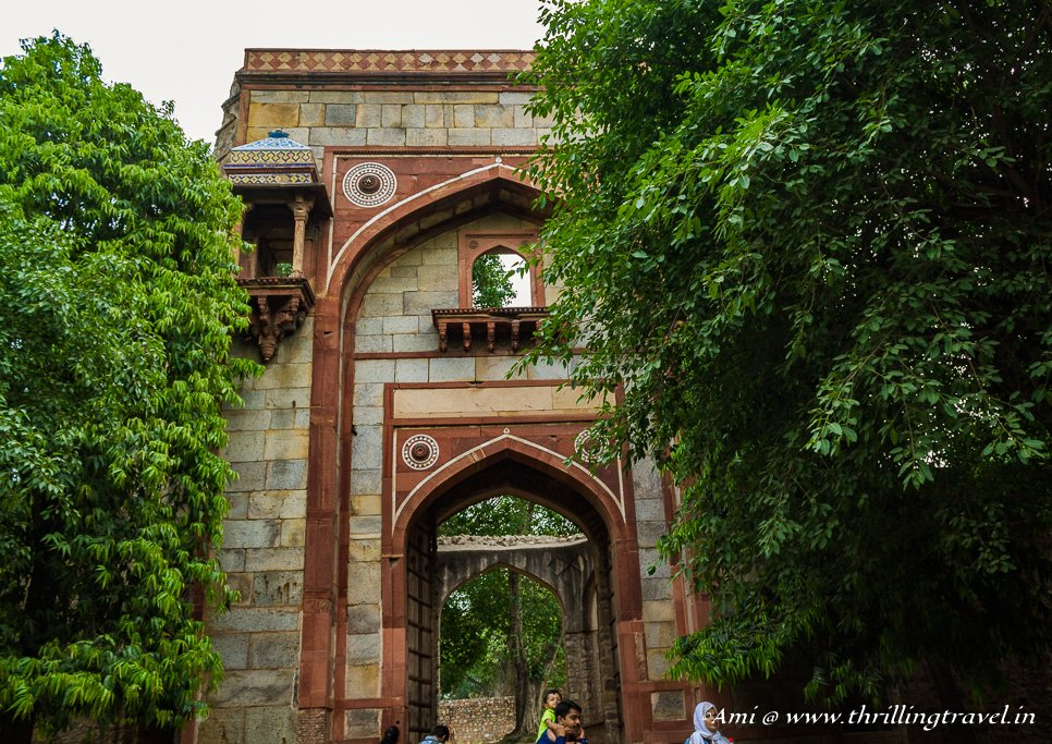 The Arab Sarai Gate at Humayun's Tomb