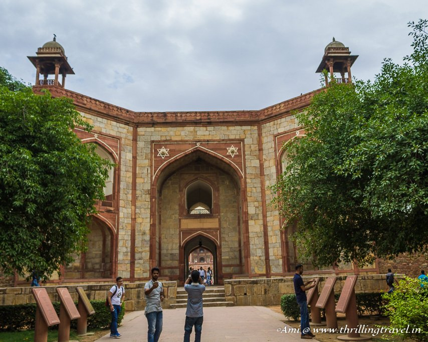 The West Gate Entrance to Humayun's tomb