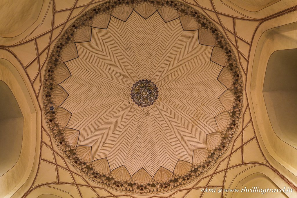 Ceiling of Humayun's Tomb