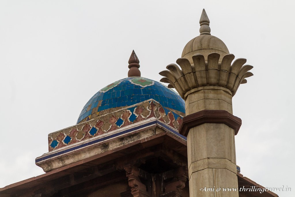 The Blue Chhatri of Humayun's tomb