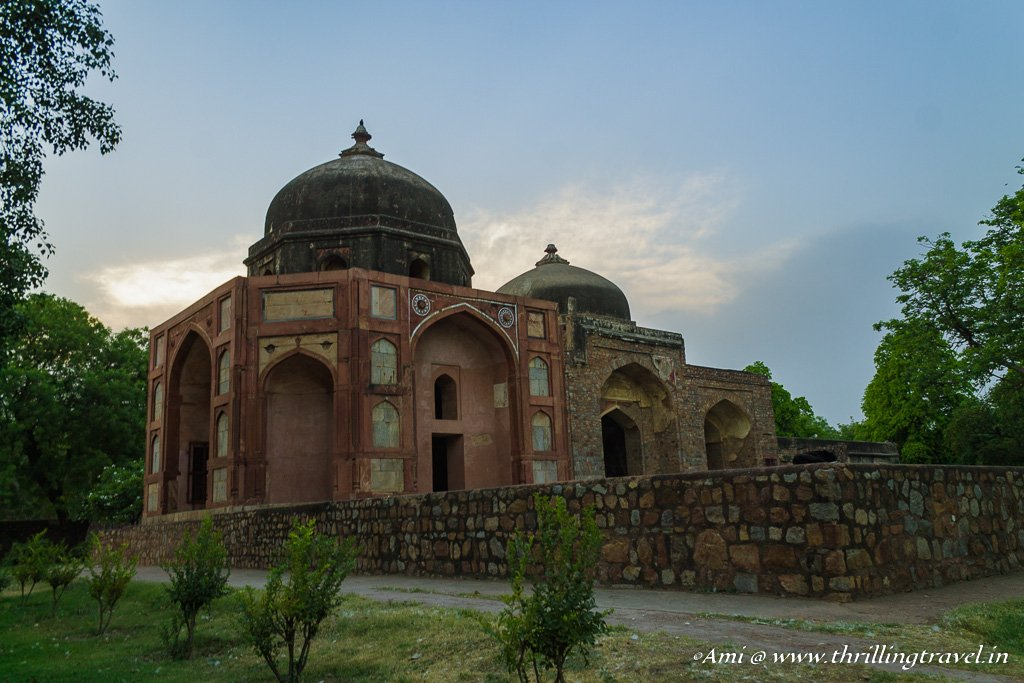 Afsarwala Tomb & Mosque at Humayun's Tomb Complex
