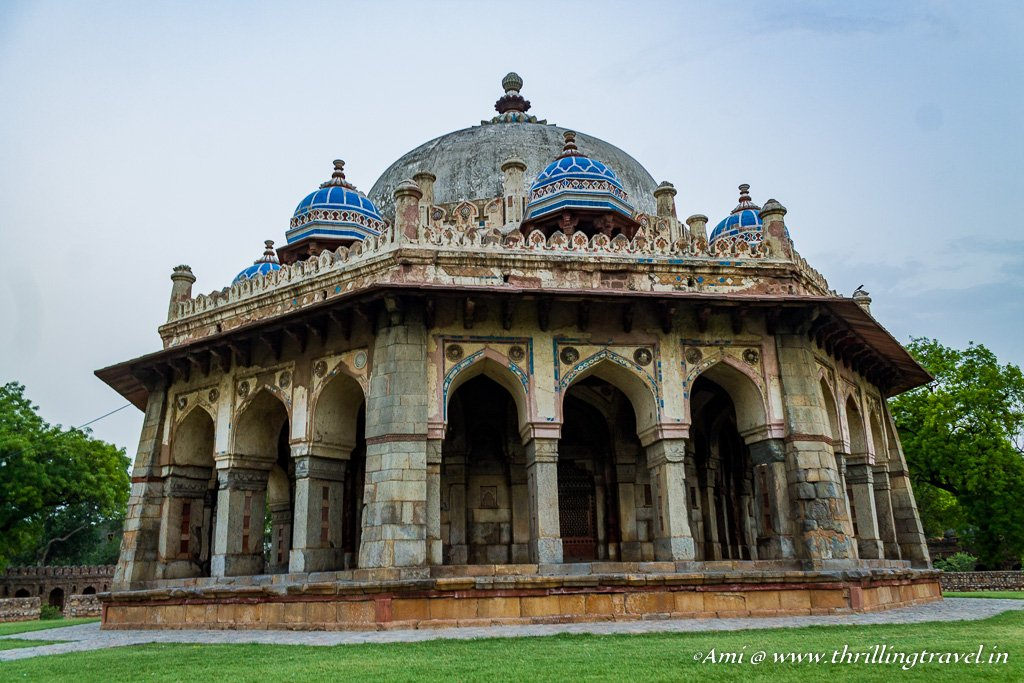 Isa Khan's tomb at the Humayun's tomb complex