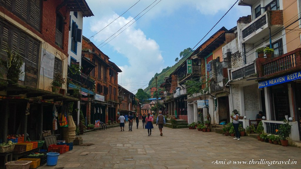The Europe like lanes of Bandipur