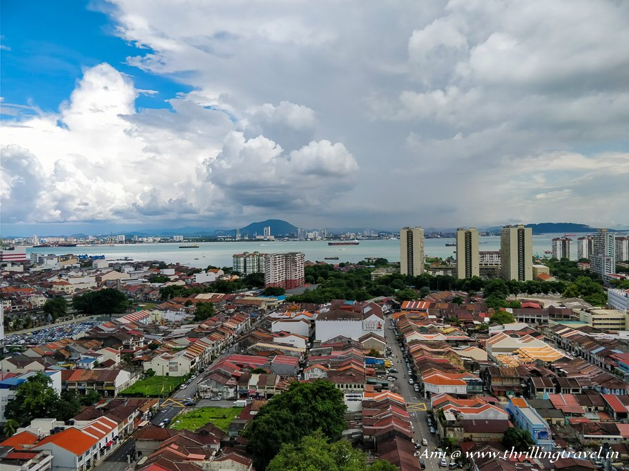 The UNESCO heritage city of George Town in Penang