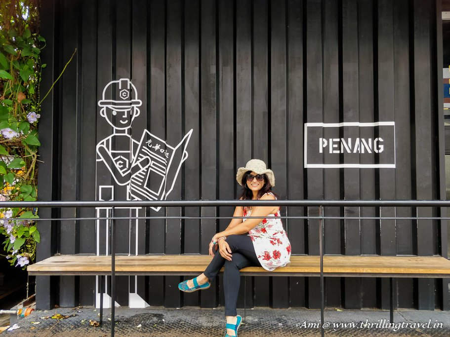 Bus Stop in Penang