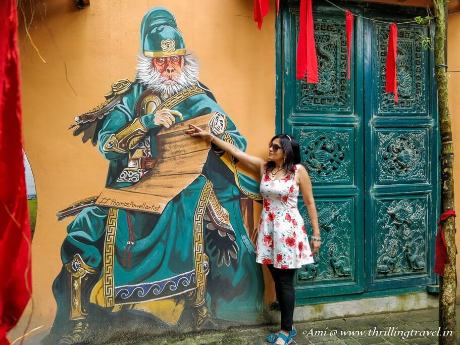 Penang Street Art in Kopi C Cafe
