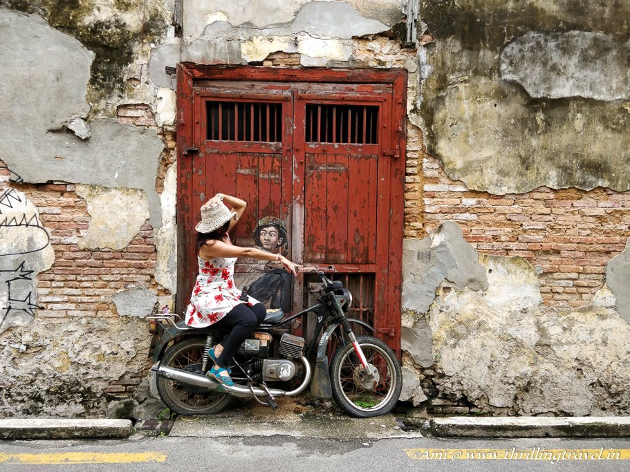 Penang Street Art by Ernest Zacharevic