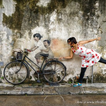 When Streets have Life – Penang Street Art