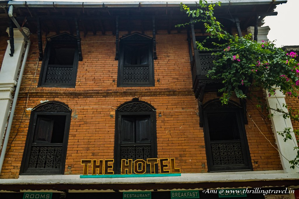 Newari homes converted to Hotels in Bandipur