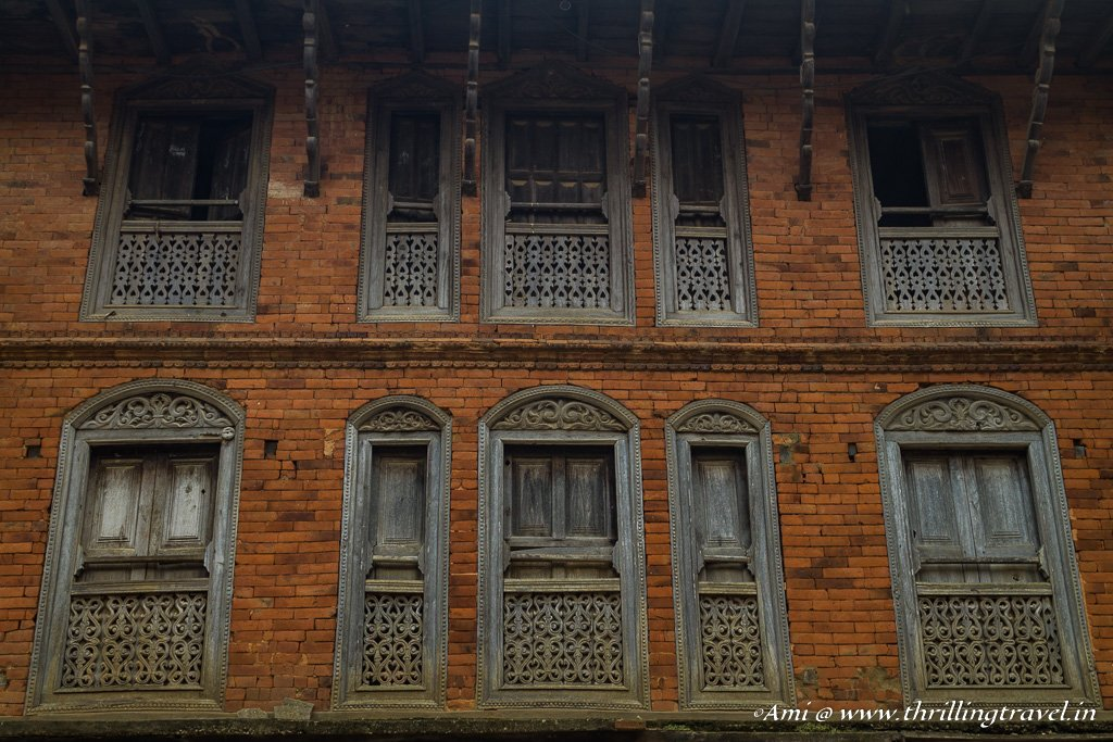 The old Newari homes of Bandipur