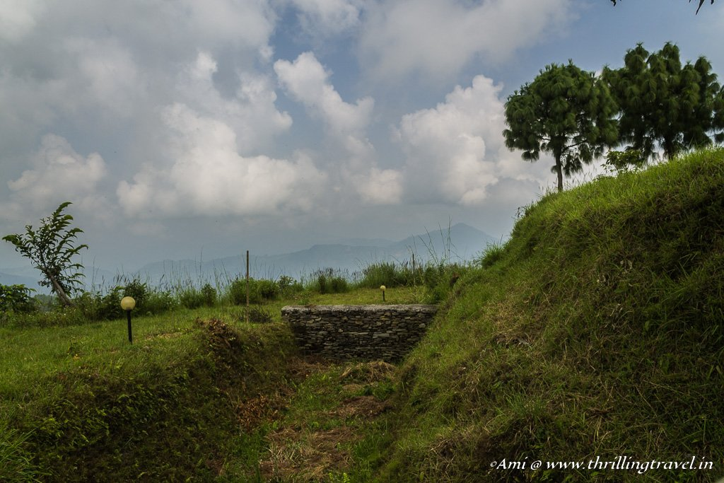 Remnants of the fort of Bandipur
