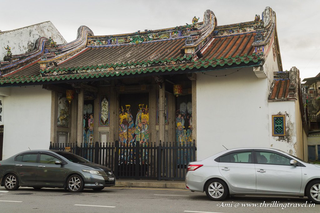 One of the old Chinese Homes in George Town, Penang