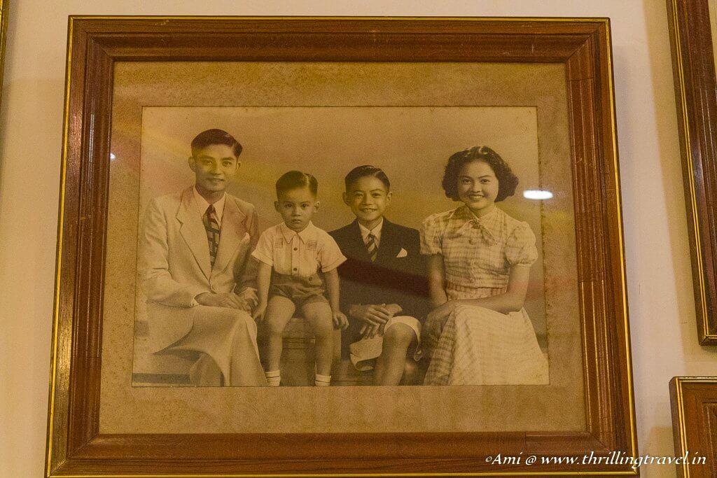 Baba and Nonya - the owners of Pinang Peranakan Mansion