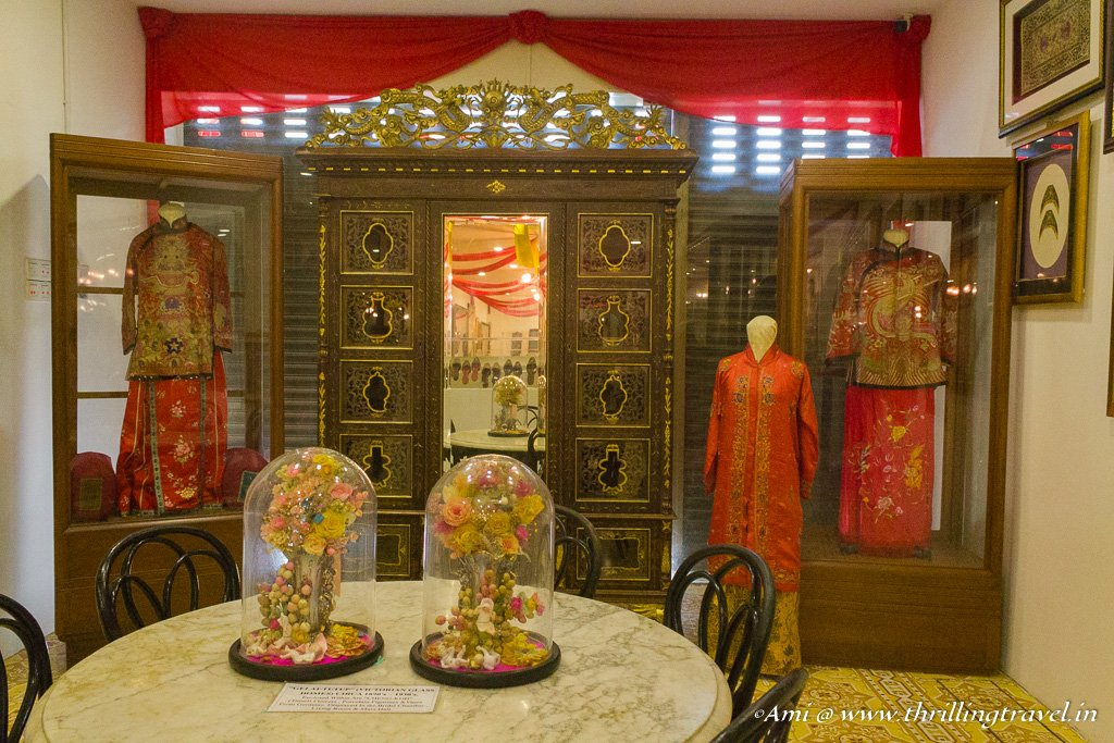 The wedding Kebaya of Nonya and Baba at Pinang Peranakan