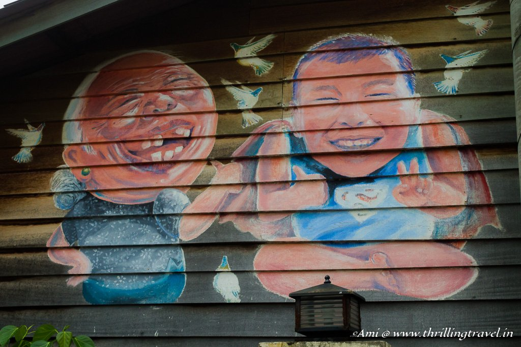 And some more relatives that we met during the Penang Street Art tour