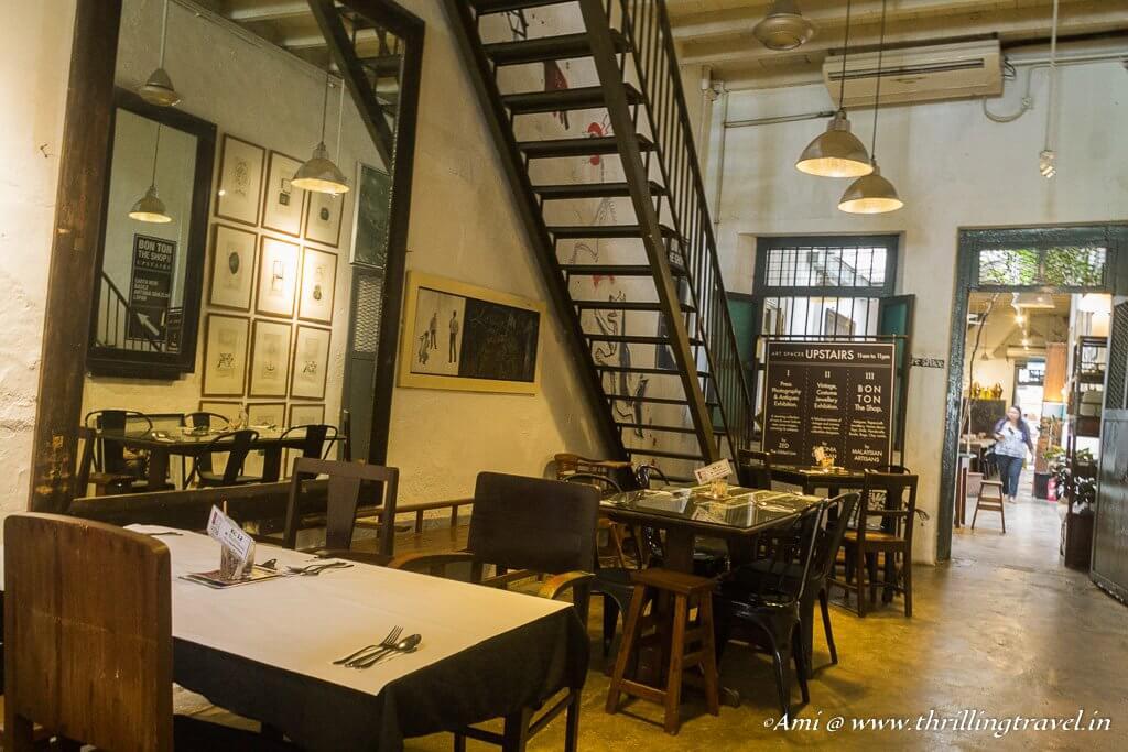 Kopi C Cafe - the longest cafe in Penang