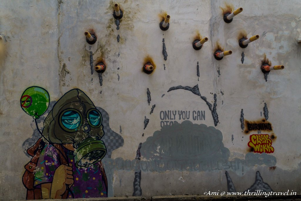 Social messages through Penang Street Art