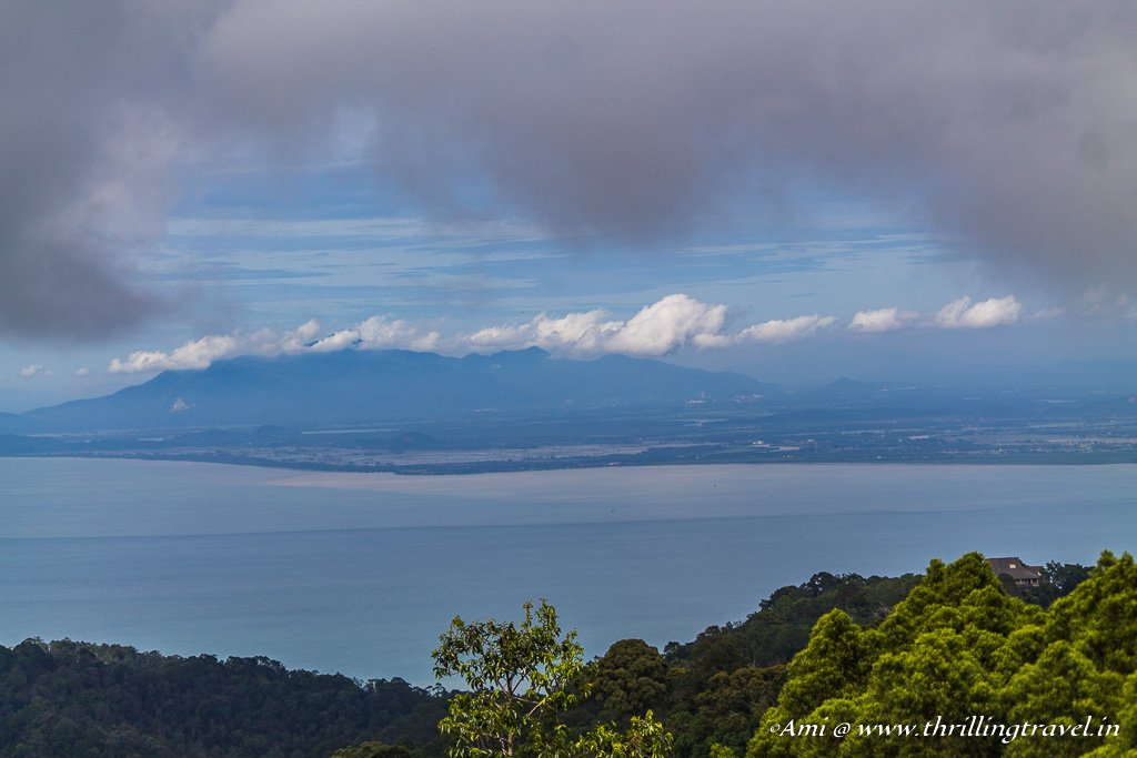 View of the Andaman Sea from the Treetop Walk at The Habitat Penang Hill