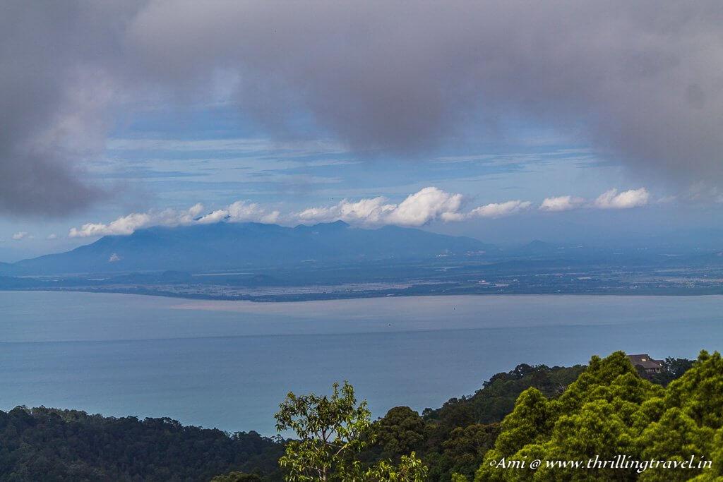 View of the Andaman Sea from the Treetop Walk at The Habitat Penang Hill