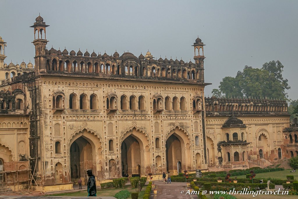 The first gate to Bara Imambara
