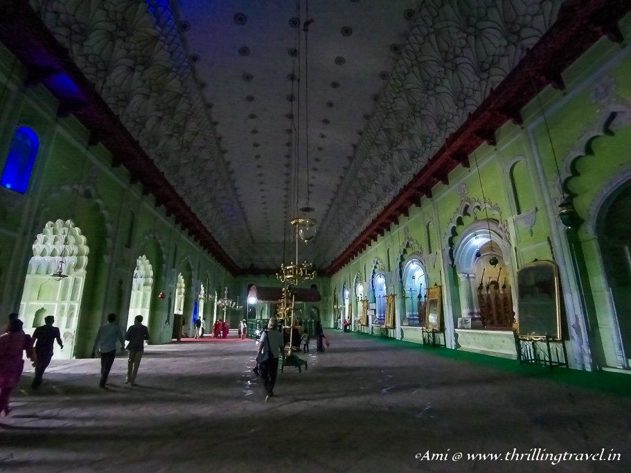 Persian Chamber in Bara Imambara